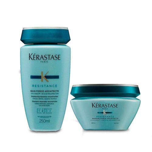 Kit-Kerastase-Resistance-Architecte-Shampoo-Bain-Force-250ml---Mascara-Bain-200g-Fikbella-144212