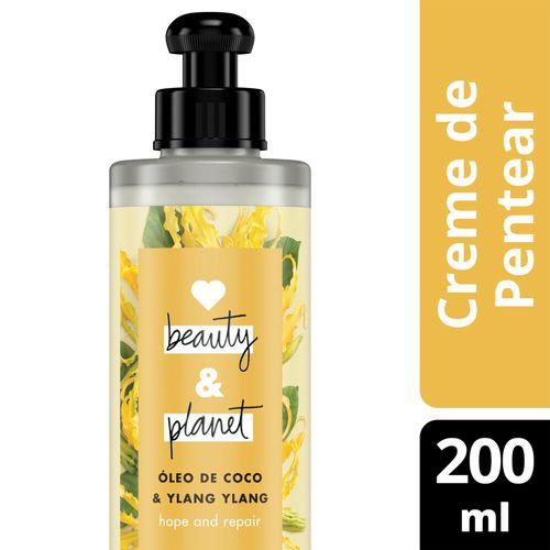 Creme para Pentear Love Beauty and Planet Hope and Repair Óleo de Coco e Ylang Ylang 200ml