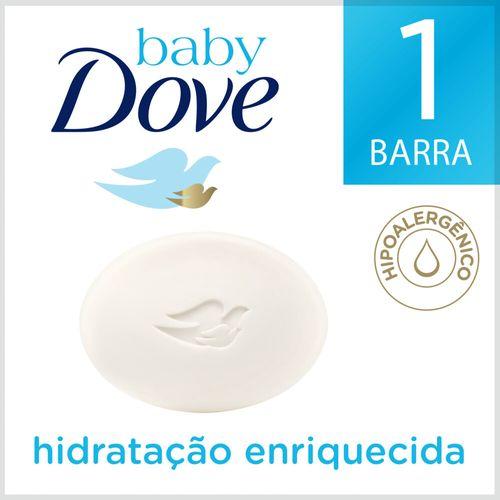 Sabonete em Barra Baby Dove Hidratação Enriquecida - 75g