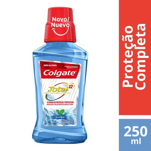 Enxaguante-Antisseptico-Bucal-Colgate-Total-12-Clean-Mint---250ml-fikbella