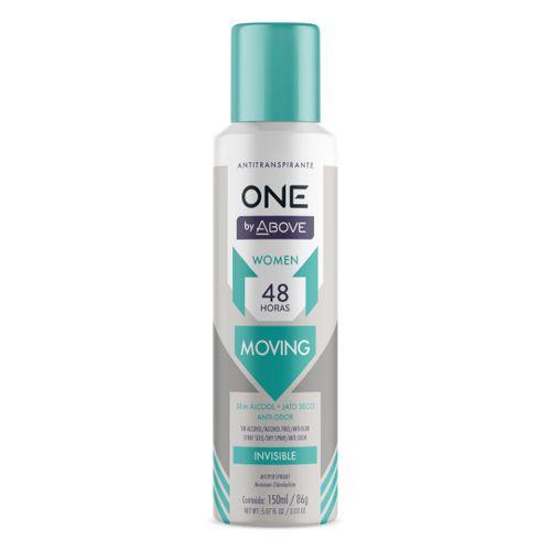 Desodorante-Aerosol-One-Moving-Women-Above---150ml-fikbella