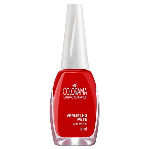 Esmalte-Vermelho-Ivete-Colorama---8ml-fikbella