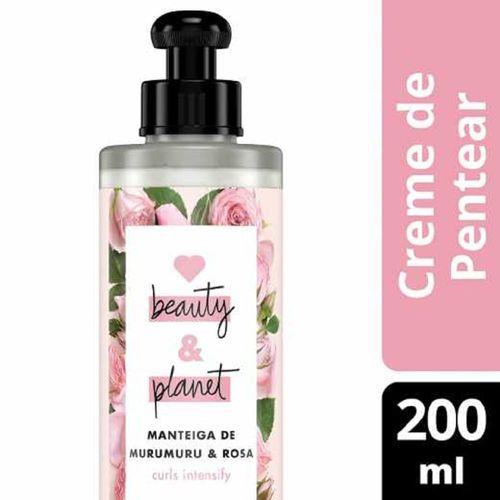 Creme de Pentear Curls Intensify Manteiga de Murumuru & Rosa Beauty & Planet - 300ml