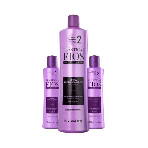 Kit-Shampoo-300ml---Antifrizz-1L---Mascara-300ml-Plastica-dos-Fios-Cadiveu-fikbella-1-