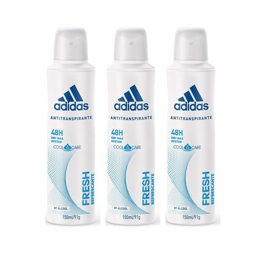Desodorante-Aerossol-Antitranspirante-Feminino-Fresh-Adidas-150ml-leve-3-pague-2-Fikbella-