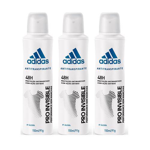 Desodorante-Aerossol-Antitranspirante-Adidas-Feminino-Pro-Invisible-150ml-Leve3-pague2-fikbella