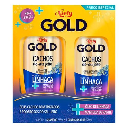 Kit-Shampoo-275ml---Condicionador-175ml-Cachos-do-Seu-Jeito-Niely-Gold-fikbella
