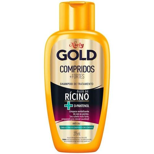 Shampoo-Compridos---Fortes-Niely-Gold---275ml-fikbella