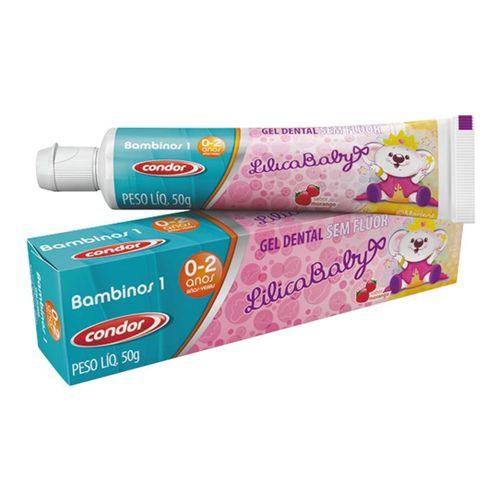 Gel-Dental-Bambinos-Lilica-Baby-Condor---50g-fikbella