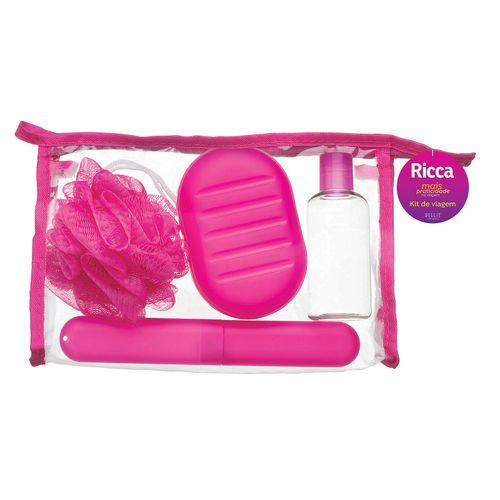 Kit-Viagem-Colors-Ricca---4-Pecas-fikbella