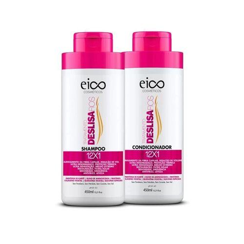 Kit-Shampoo---Condicionador-Deslisa-Fios-Eico---450ml-fikbella
