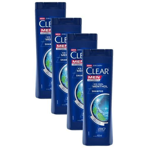 Shampoo-Anticaspa-Clear-Men-Ice-Cool-Mentol-400ml---4-unidades-fikbella