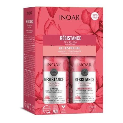Kit-Shampoo---Condicionador-Resistance-Flor-de-Lotus-Inoar---250ml-fikbella--1-