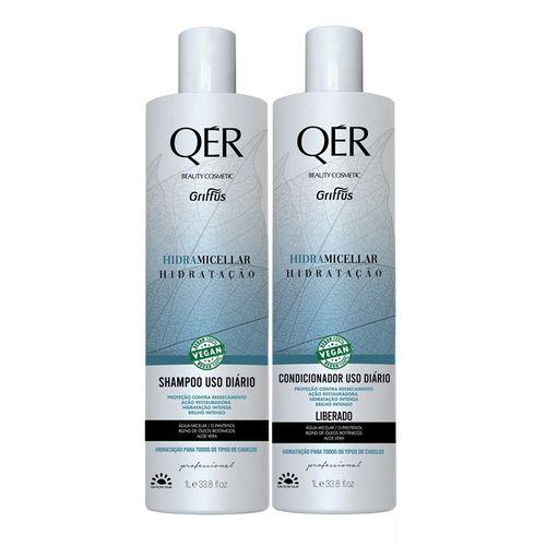 Kit-Shampoo---Condicionador-Hidramicellar-Qer-Griffus---1L-fikbella