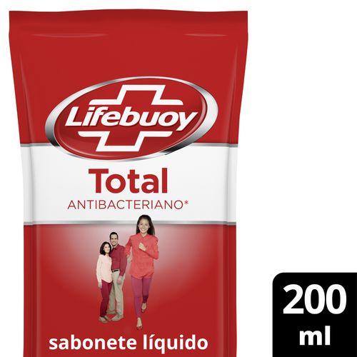 Sabonete Líquido Lifebuoy Refil Total - 200ml