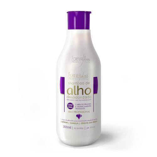 Shampoo-Extrato-de-Alho-Forever-Liss---300ml-fikbella