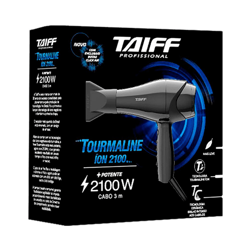 Secador-Tourmaline-2100W-Taiff---220V-fikbella