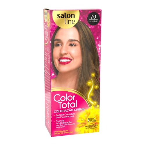 Kit-Tintura-Color-Total-Salon-Line-Louro-Medio-7.0-fikbella-1-