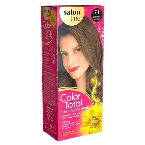 Kit-Tintura-Color-Total-Salon-Line-Louro-Medio-Acinzentado-7.1-fikbella-1-