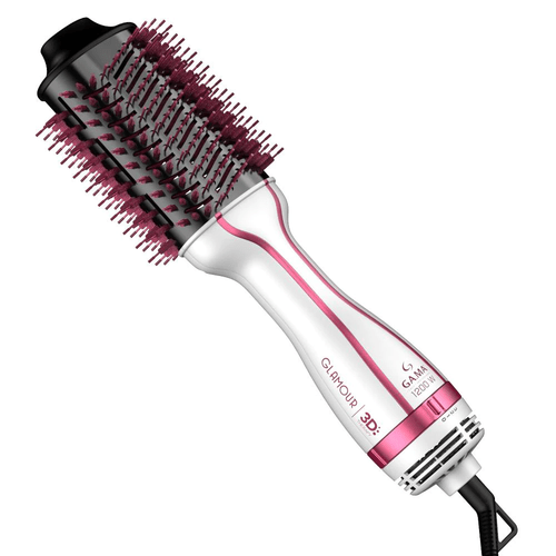 Escova-Secadora-Glamour-Pink-Brush-3D-Gama---220V-fikbella